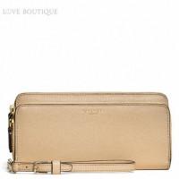coach-double-saffiano-wallet51305tan